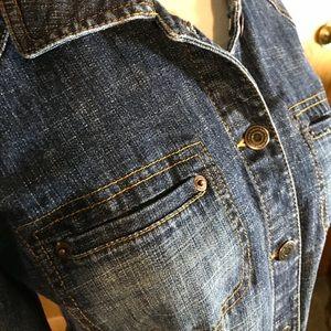 Ann Taylor from Loft Jackets & Coats - Loft Denim Jacket, size 6